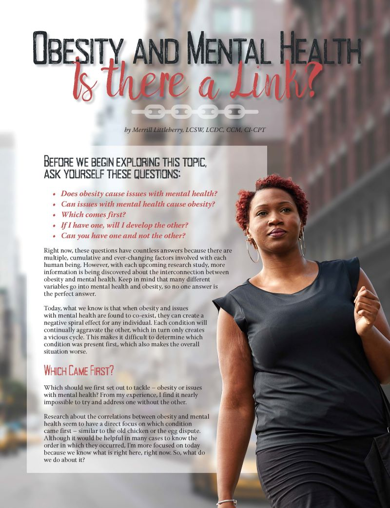 Obesity And Mental Health Is There A Link Obesity Action Coalition